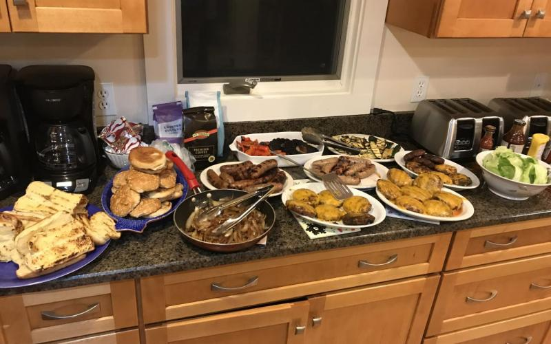 Gersbach Lab Retreat 2017 -  Dinner!